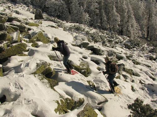 Schneeschuhwandern am Steinernen Meer